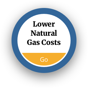 Lower Natural Gas Costs