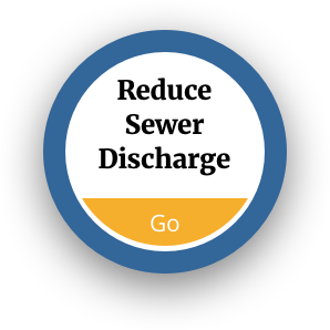 Reduce Sewer Discharge