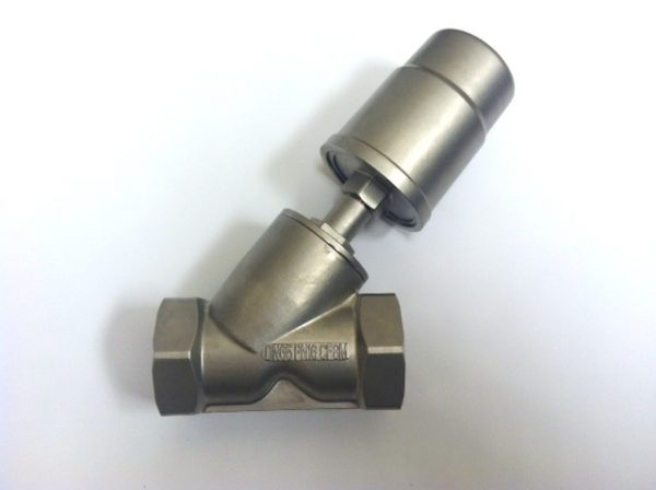 Image of NP-999-JF90S165WN 2-12 316SS Angle Seat Water Valve w90mm 304SS Actuator ESG sold by RW Martin