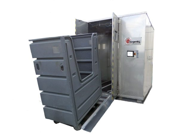 Image of NM-Demo-Energenics Cart Washer New Energenics KARTWASHER Laundry Cart Washer and Sanitizer sold by RW Martin