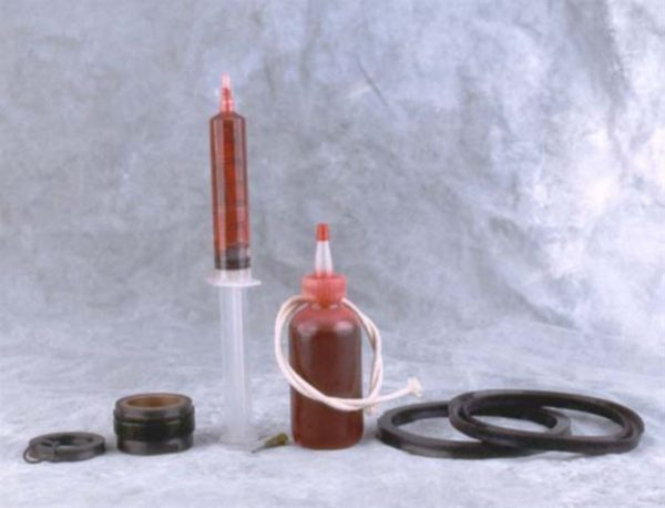 Image of NP-040-010600064 401-025-V Cylinder Repair Kit Parker 5 AC Ironer Repair Kit for 010500067 sold by RW Martin