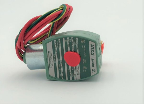 Image of NP-040-022300005 39-124 Asco Solenoid Valve 14 Inch 120VAC sold by RW Martin