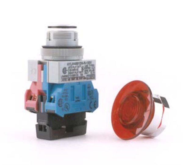Image of NP-040-022500110 40-320 Emergency Stop Switch 120V Illum 1NC 1NO sold by RW Martin