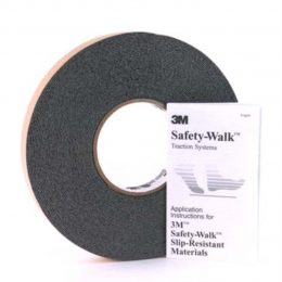 Image of NP-040-031600003 81-001-R Safety Walk Tape Gray 1 Inch Wide Sold Per Roll sold by RW Martin