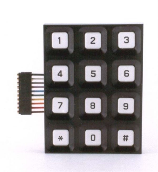 Image of NP-040-050100001 29-071 Keypad without Ribbon Connection See Notes sold by RW Martin
