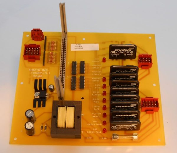 Image of NP-040-050200011 29-408 Fiber Optic Backplane Board SPF sold by RW Martin
