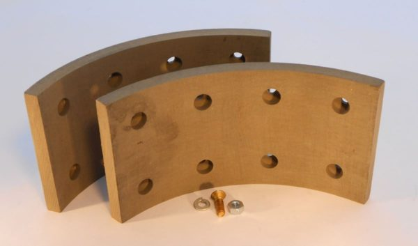 Image of NP-040-B04100014 B41225 Brake Linings with Hardware 10 x 4 Brake Sold as a Pair sold by RW Martin