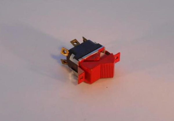 Image of NP-040-E01200007 Red Rocker Switch DPDT sold by RW Martin