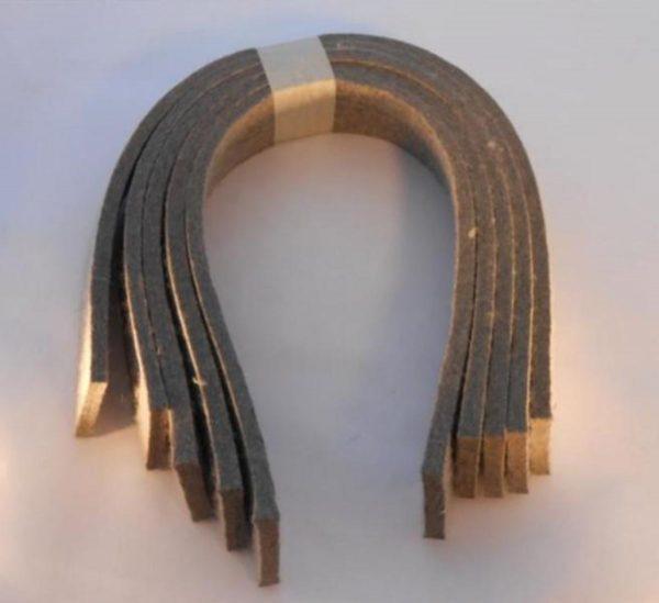 Image of NP-040-T02110019 Felt Door Seal-5 piece set sold by RW Martin