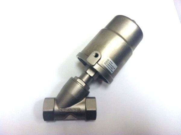 Image of NP-999-JF90S132YN 1-14 Air Angle Seat Valve Steam SS sold by RW Martin