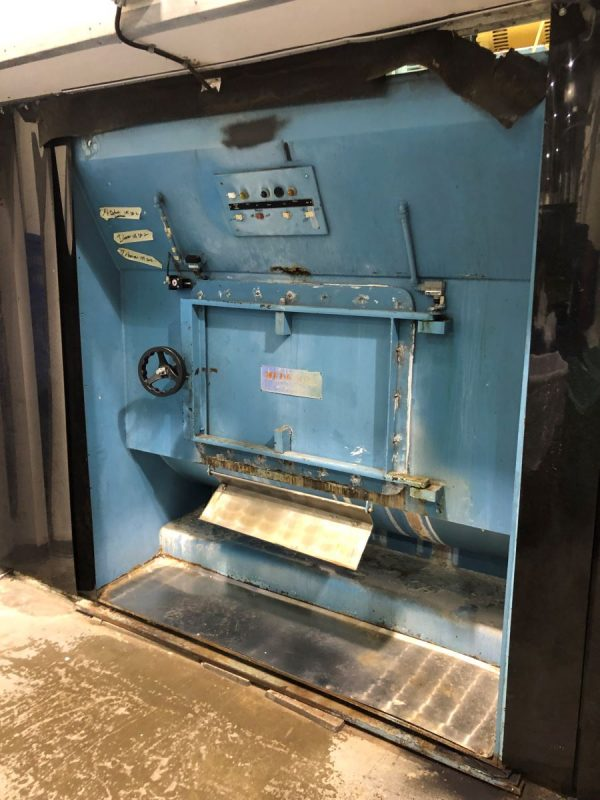 Image of SM-1003 Braun 600 Lb Top Side Loading Washer Extractor Model 600NMTDP sold by RW Martin