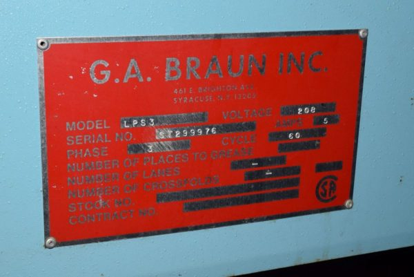 Image of UM-7330 Used Braun Stacker Model LPS3 sold by RW Martin