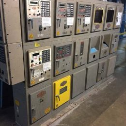 Image of UM-7653 Used Milnor Dryer Control Cabinet Model Belbox 12 sold by RW Martin