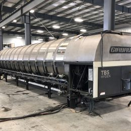 Image of UM-7796 Pre-Owned Continental Girbau 12 Twelve Module Tunnel Washer Model TBS-5012 sold by RW Martin