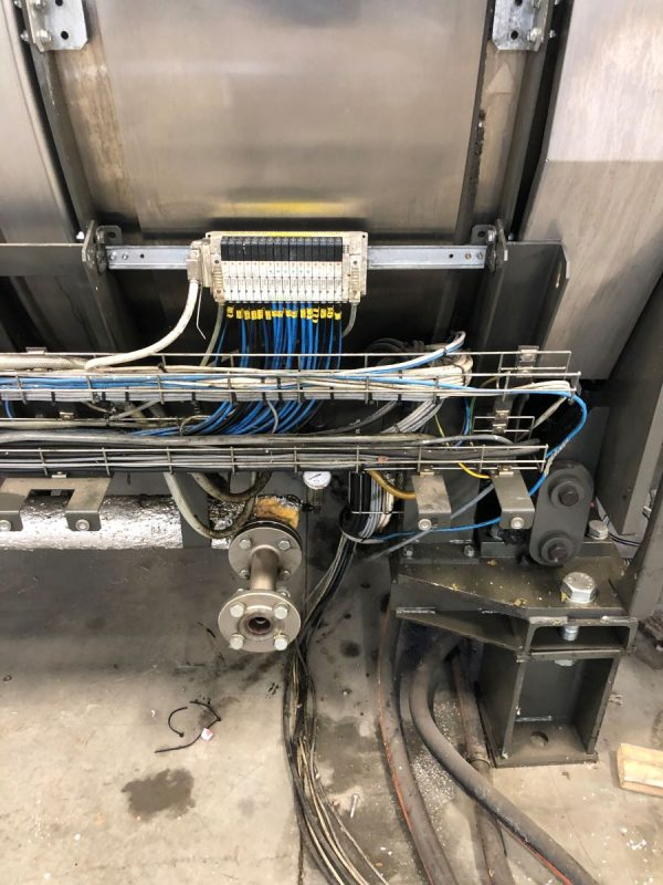 Image of UM-7796 Used Continental Girbau 12 Twelve Module Tunnel Washer Model TBS-5012 sold by RW Martin