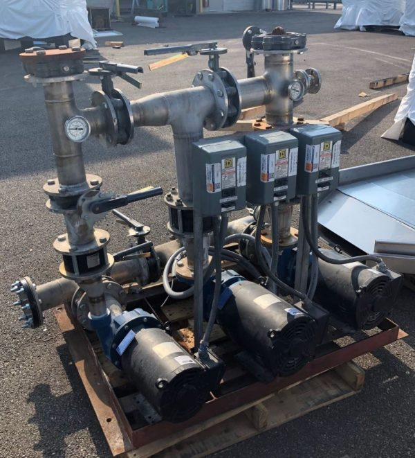 Image of UM-7912 Used Kemco 75 HP Triple Pumping Package sold by RW Martin