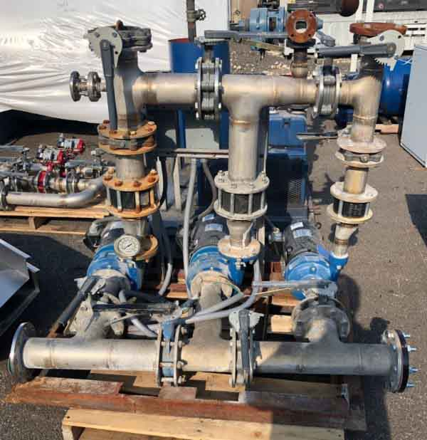 Image of UM-7912 Used Kemco 10 HP Triple Pumping Package sold by RW Martin
