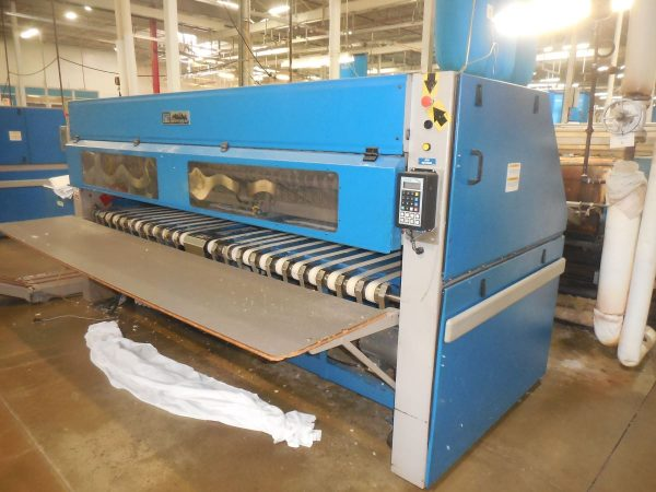 Image of UM-8018 Used Chicago 4-Lane Folder Crossfolder With Stacker Model S-20-R sold by RW Martin