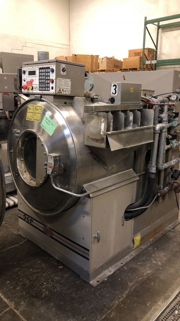 Image of UM-8036 Used Milnor 100 Lb Open Pocket Washer Extractor Model 36026Q6P sold by RW Martin