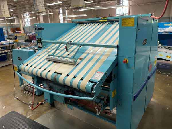 Image of UM-8163 Braun Blanket Folder With Stacker Model TBFGF sold by RW Martin