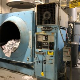 Image of UM-8209 Braun 400 Lb Natural Gas Heated Dryer Model 123H-NGF sold by RW Martin