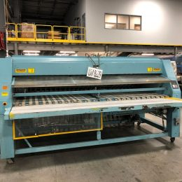 Image of UM-8229 Braun 2-Lane Folder Crossfolder With Stacking Conveyor Model 2PF3CFA sold by RW Martin