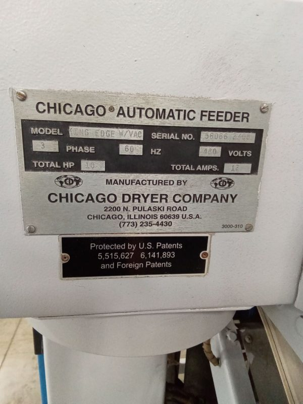 Image of UM-8258 Chicago 2-Station Spreader Feeder Model King Edge VAC sold by RW Martin