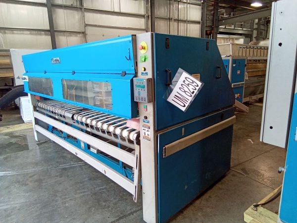 Image of UM-8259 Chicago Single Lane Folder Crossfolder With Large Piece Stacker Conveyor Model S-13-2000 sold by RW Martin