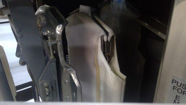 Image of UM-8266 Colmac Triple Buck Shirt Press Model VCPU3LH sold by RW Martin