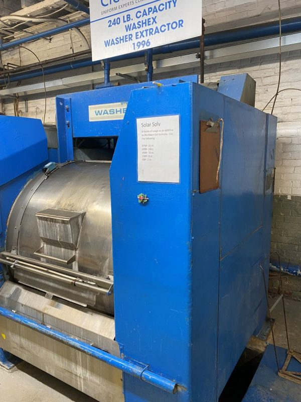 Image of UM-8351 Washex 240 Lb Capacity Side Loading Washer Extractor Model 4639 FLA sold by RW Martin
