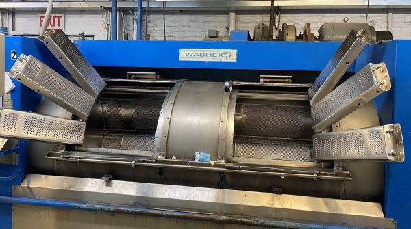 Image of UM-8352 Washex 700 Lb Capacity Side Loading Washer Extractor Model 46110 FLA OPT sold by RW Martin