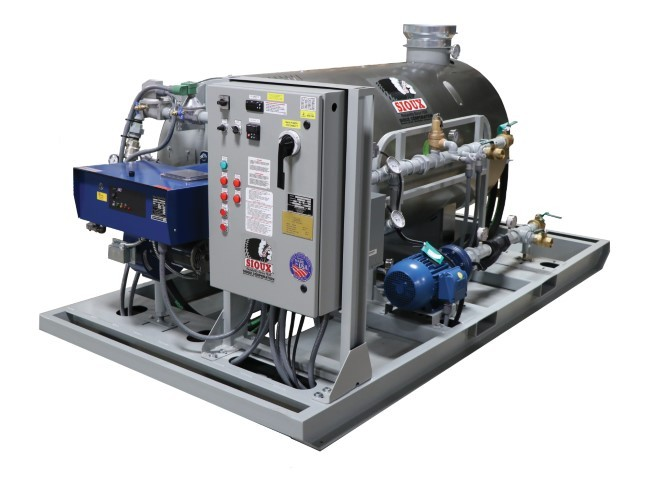 Sioux Water Heater for Cold Weather Concrete